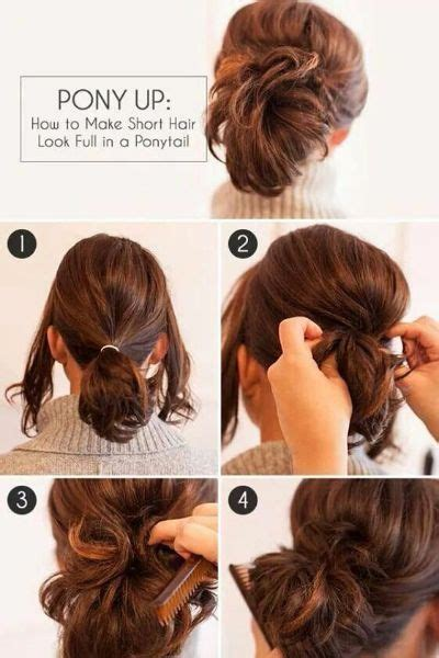Easy Ponytail Hairstyles For Medium Hair For School by 50 Unbelievably Easy Hairstyles For School Hair Motive