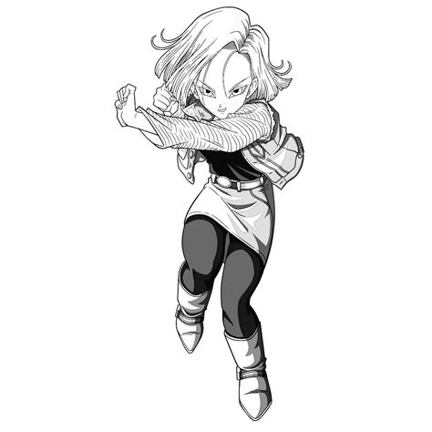 android draw android 18 by gyvyuhbininij on deviantart
