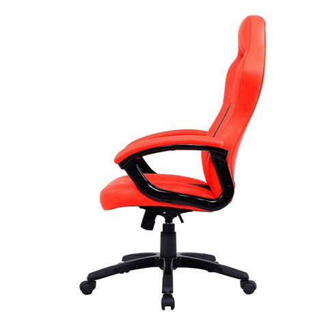 sillas para escritorio silla ejecutiva moderna para escritorio piel naranja