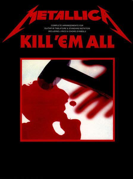 metallica kill em all music sales metallica kill em all thomann france