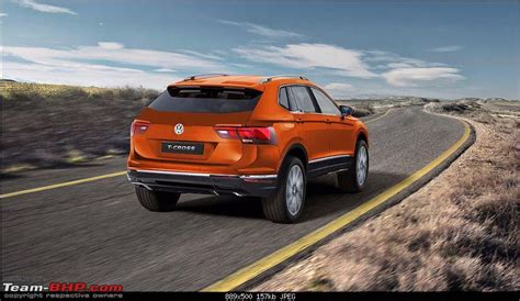rumour volkswagen t cross compact crossover based on