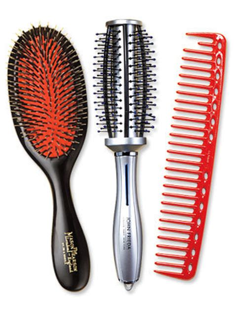 Hair Style Brush by The Hair Brushes And Combs For Styling Instyle Co Uk