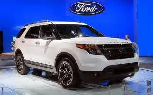 new car ford 2015 2016 ford explorer sport suv review interior msrp pics