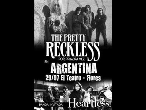 the pretty reckless album acustico heartless cruel audio oficial heartlessarg doovi