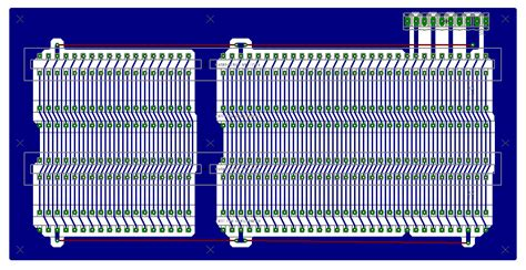 Home Layout 4 slot isa backplane pcb layout