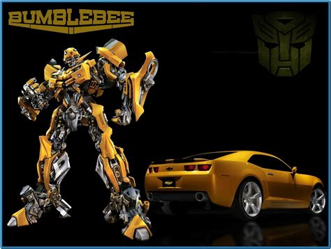 Transformers Bumble Bee Tank Version transformers bumblebee screensaver free
