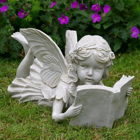Mr Price Home Decor by Fairy Laying Down Reading A Book Garden Ornaments Statues
