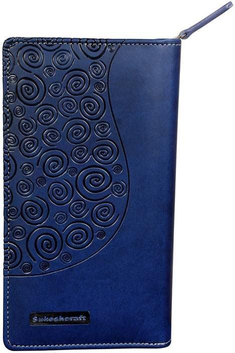 Drenbellony Passport Holder Blue sukeshcraft 2geather passport holder blue