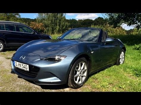 country mazda mazda mx 5 on country road and autobahn ドイツ仕様nd