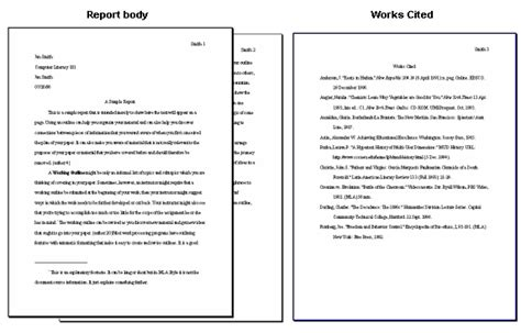 mla format book report ghs business education march 27 march 28 2012