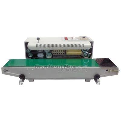 Mesin Steam Ac Otomatis mesin pengemas semi otomatis continuous sealer