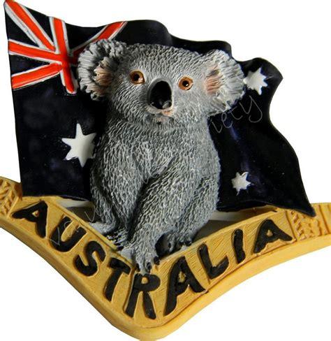 Gosir Magnet Kulkas Koala Australia 1 x australian souvenir australia flag boomerang koala 3d fridge magnet ebay