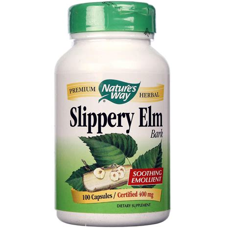 slippery elm for dogs nature s way slippery elm bark 400 mg 100 capsules evitamins new zealand