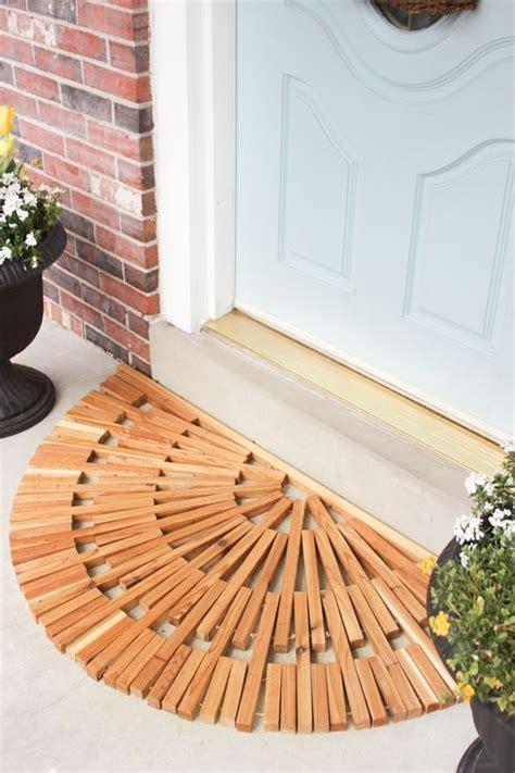 Wooden Door Mat by The World S Catalog Of Ideas