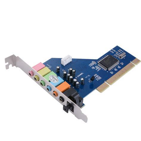 Pci Sound Card Std 7 1 channel pci sound audio card cmi8768 chipset for windows xp vista 7 ac393 ebay