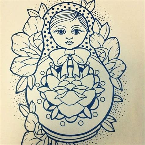 babushka doll tattoo designs 25 best ideas about babushka on