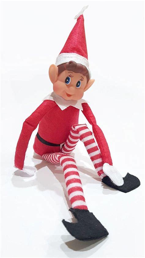 christmas adult elf shelf poseable naughty elves reports