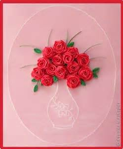 Paper Roses For Card - quilling cards quilling and paper roses on