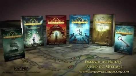 the seven wonders series by lerangis official book trailer