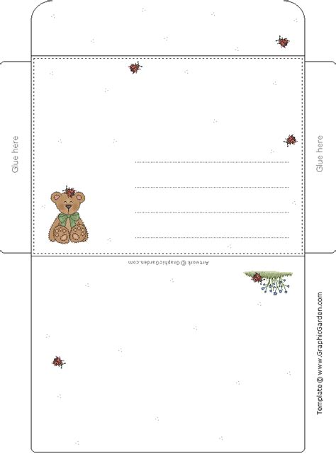 printable animal envelopes free envelopes on pinterest