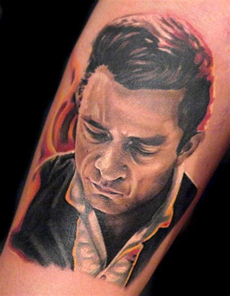 did johnny cash have tattoos johnny rockabilly tattoos