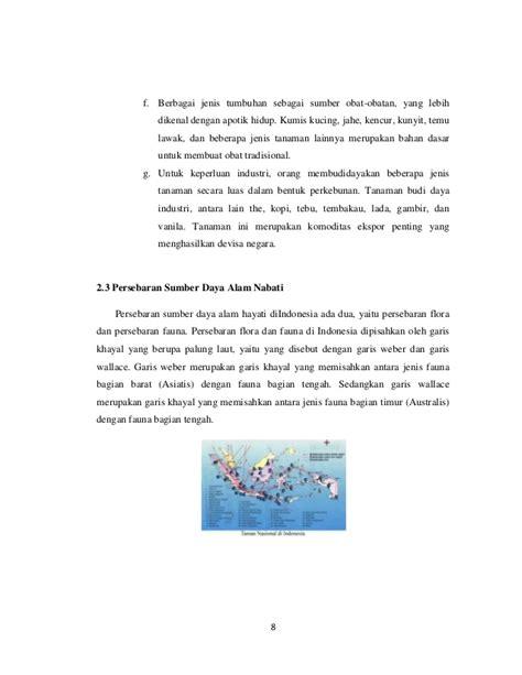 makalah sumber daya alam nabati