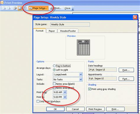 Calendar Printing Assistant For Outlook 2013 How To Print A 15 Minute Calendar