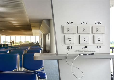 dont  airport usb charging stations