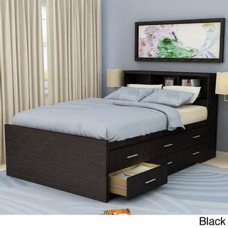 full size captains bed with bookcase headboard sonax 2 piece double full size captain s storage bed and