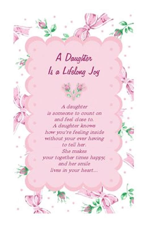 printable quotes about daughters a daughter is joy greeting card happy birthday printable