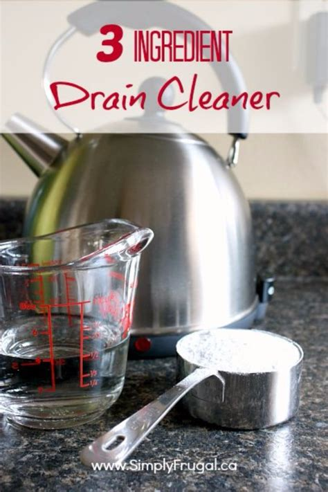 natural bathtub drain cleaner 41 best homemade cleaner recipes diy joy
