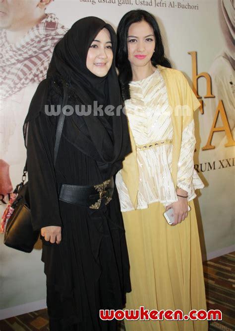 film hijrah cinta online foto revalina s temat dan pipik dian irawati di premiere