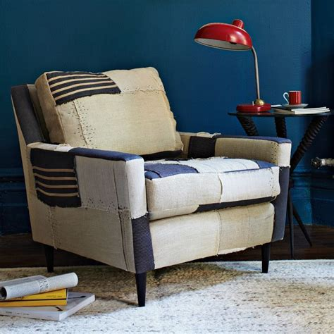 great   style  great chair simple bold colour upholstery project patchwork chair