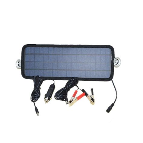 car boat battery charger 4 5w portable car automobile boat battery solar cells