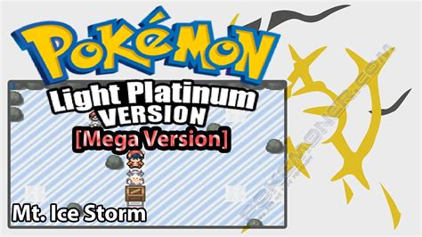 pokemon mega light platinum walkthrough mt icestorm pokemon mega light platinum