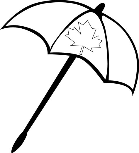 Canada Clipart Black And White