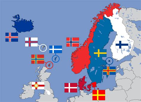 flags of the world with crosses nordic cross flags of northern europe 2000x1463 mapporn