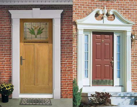 Exterior Front Door Trim Ideas Front Door Molding Ideas