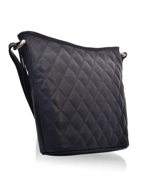 Navy Blue Leather by Hidekraft Womens Navy Blue Leather Handbag Lbg0187nvd