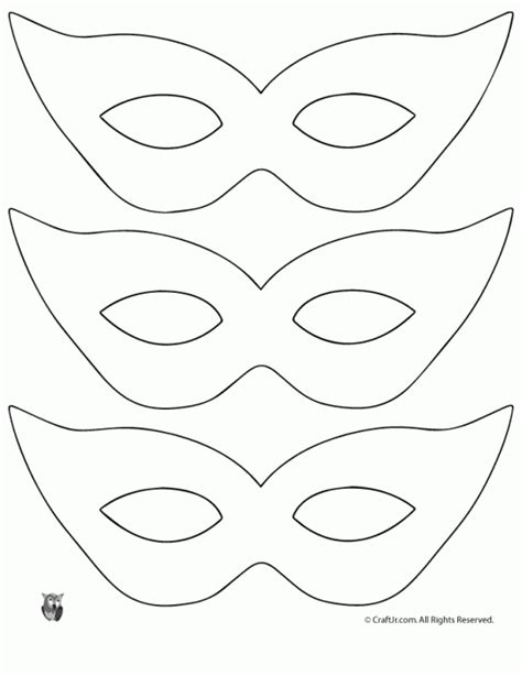 masquerade masks templates printable mardi gras mask craft and template woo jr
