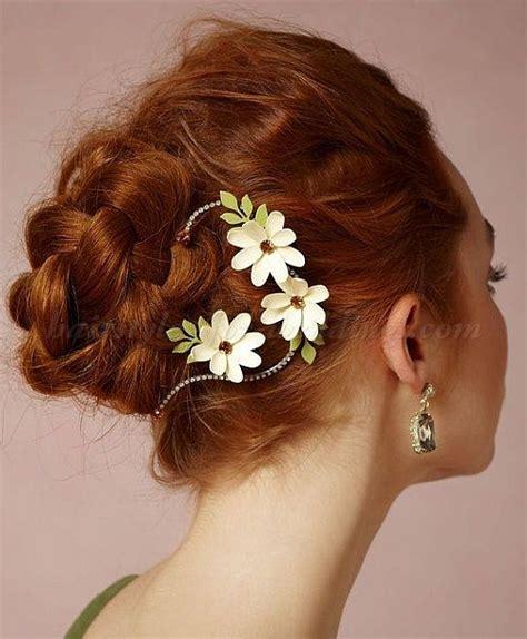 Wedding Hairstyles Plaits Bun by Braided Wedding Hairstyles Bridal Hairstyles With Plaits