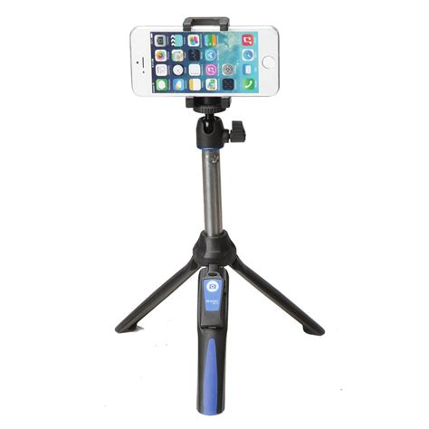 Tongsis Benro Smart 3 In1 With Remote Bluetooth For Gopro Smartphone benro smart mini tripod and selfie stick with bluetooth wireless remote bk10 ebay