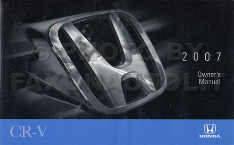 all car manuals free 2007 honda cr v instrument cluster 2007 honda cr v owners manual new original crv owner guide book ebay