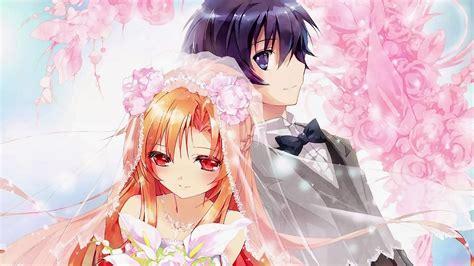 anime wallpaper hd kirito asuna kirito anime wedding 0b wallpaper hd