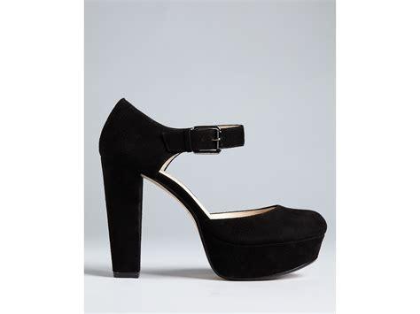 michael kors high heels michael kors kors pumps kempton high heel in black lyst