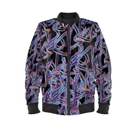Artist SG Bomber Jacket Design No1 Blue.