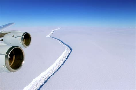 in antarctic shelf just grew by another 6