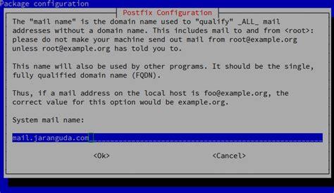 membuat database mysql debian instalasi mail server postfix dovecot mysql debian 7