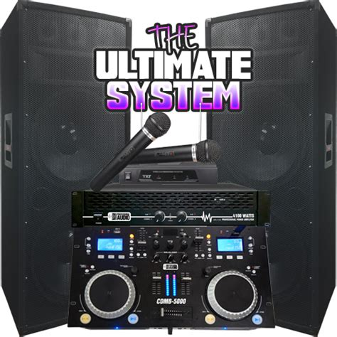complete dj system with lights complete mega dj system everything you need 4100 watt