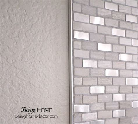 simple diy tile backsplash simple diy bricks and